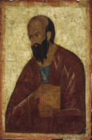 "Paul the Apostle, St. From the Deesis (""Vysotsky"") row"