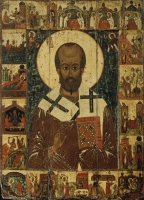 Nicholas, St. with scenes from his life