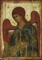 "Archangel Gabriel. From the Deesis (""Vysotsky"") row"