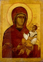 Mother of God akin to Our Lady of Tikvin
